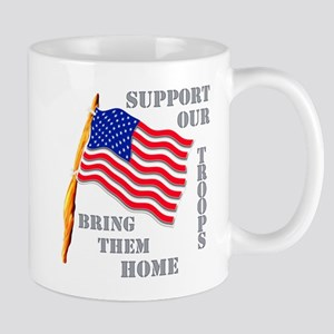 Support Our Troops Bring Them Home Mug