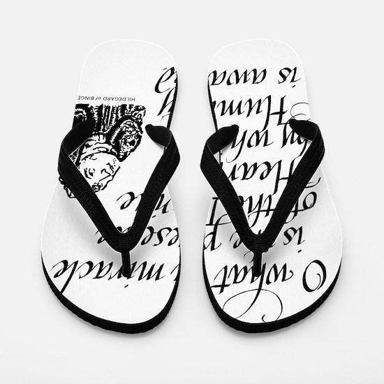 Hildegard Divine Heart Flip Flops