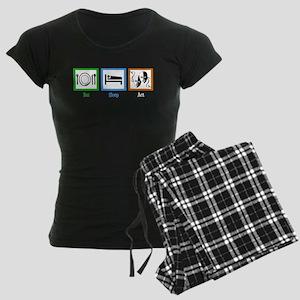 Eat Sleep Act Women's Dark Pajamas