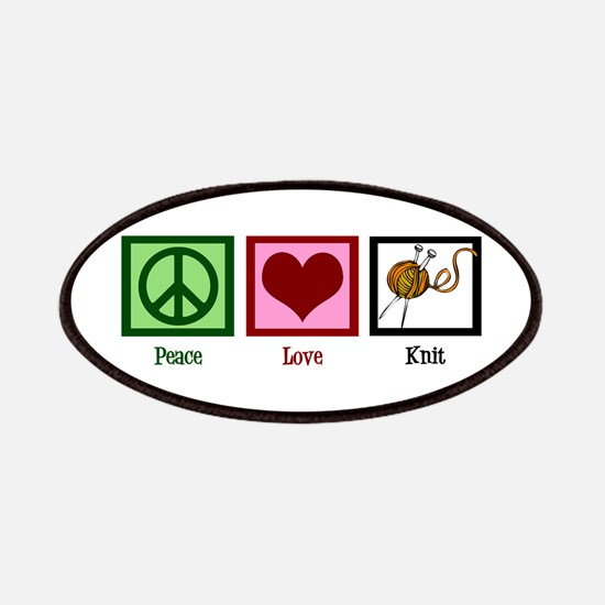 Peace Love Knit Patches