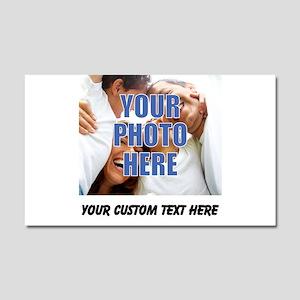 Custom Photo and Text Car Magnet 20 x 12