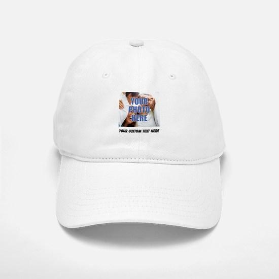 Custom Photo and Text Cap