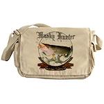 Musky Hunter,2 Messenger Bag