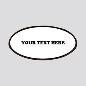 Custom Text Patches