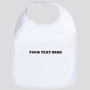 Custom Text Bib