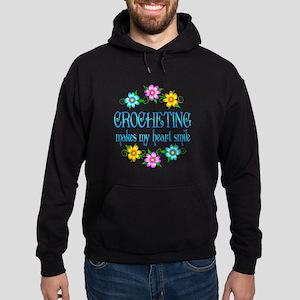 Crocheting Smiles Hoodie (dark)
