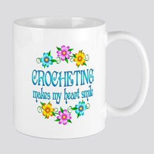 Crocheting Smiles Mug