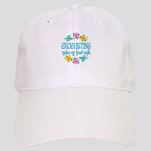 Crocheting Smiles Cap