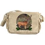 bow hunter, trophy buck Messenger Bag
