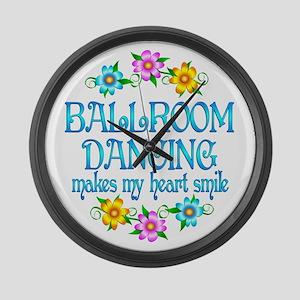 Ballroom Smiles Large Wall Clock