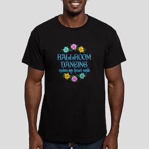 Ballroom Smiles Men's Fitted T-Shirt (dark)