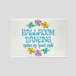 Ballroom Smiles Rectangle Magnet
