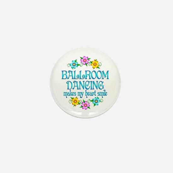 Ballroom Smiles Mini Button (10 pack)