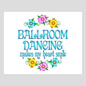 Ballroom Smiles Small Poster
