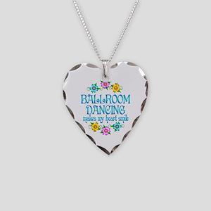Ballroom Smiles Necklace Heart Charm