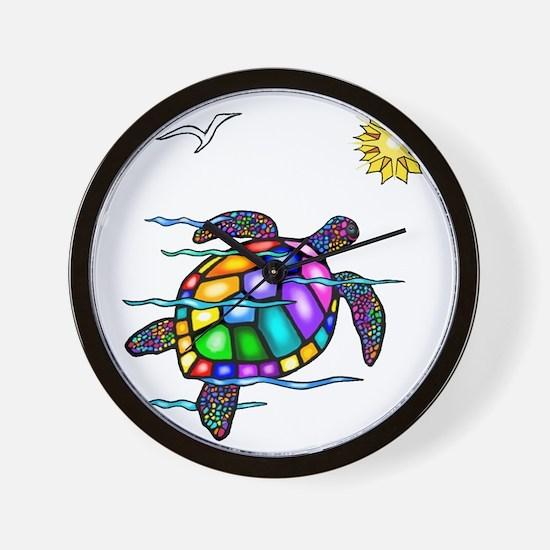 Sea Turtle #1 Wall Clock
