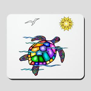 Sea Turtle #1 Mousepad