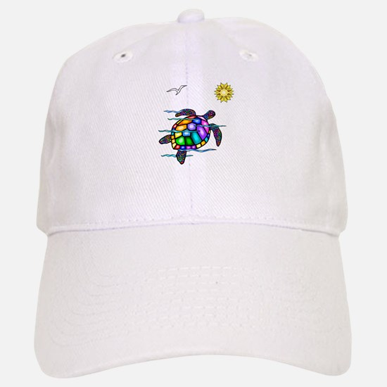 Sea Turtle #1 Baseball Baseball Cap