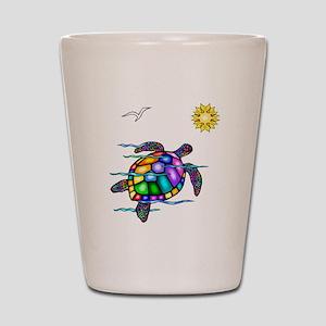 Sea Turtle #1 Shot Glass