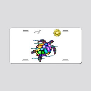 Sea Turtle #1 Aluminum License Plate