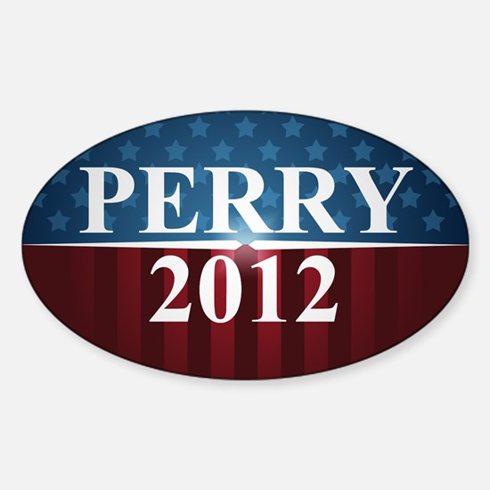 Perry 2012 Sticker (Oval)