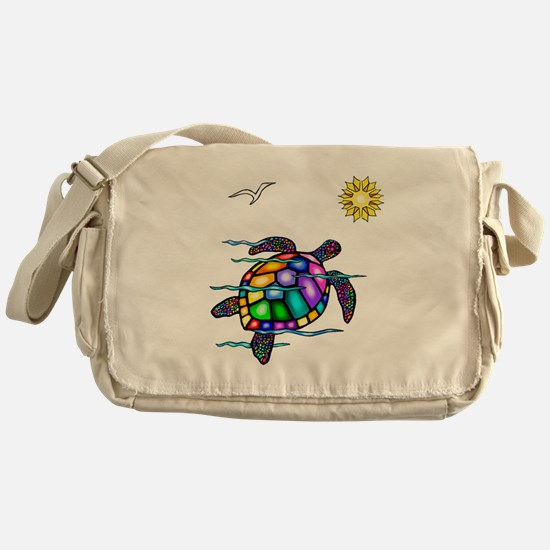 Sea Turtle #1 Messenger Bag