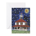 Cajun French Who Dat Greeting Cards (Pk of 20)