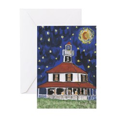 Cajun French Who Dat Greeting Card