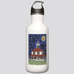 West End Lighthouse Blues Stainless Water Bottle 1