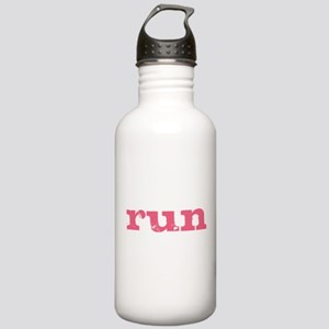 run - pink Stainless Water Bottle 1.0L
