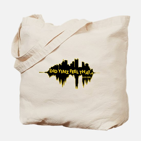 Did Yinz Feel That Tote Bag