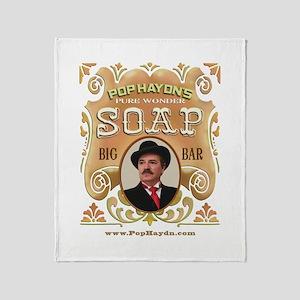 Wonder Soap Throw Blanket