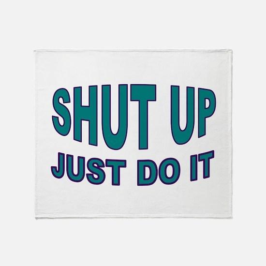 GO DO IT Throw Blanket