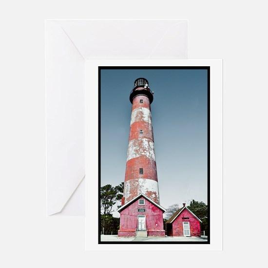 Assateague Lighthouse - Summer Solstice Greeting C