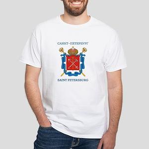 St. Petersburg White T-Shirt