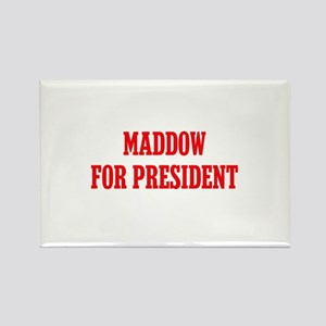 Maddow for President Rectangle Magnet