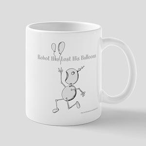 Robot's Balloons 1 Mugs