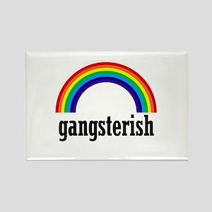 Gangsterish Rectangle Magnet
