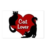 Fat Cat & Cat Lover Postcards (Package of 8)