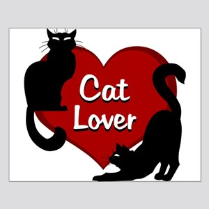 Fat Cat Poster Cute Cat Lover Poster Small Poster