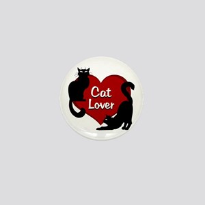 cat lover Mini Button