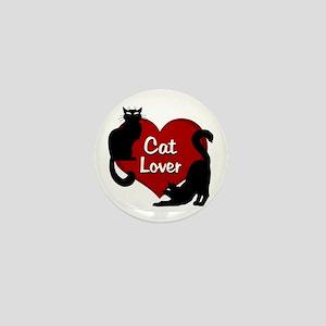 cat lover Mini Button