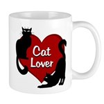 Fat Cat & Cat Lover 11 oz Ceramic Mug