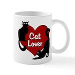Fat Cat & Cat Lover 11 oz Ceramic Mug