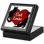 Fat Cat & Cat Lover Keepsake Box