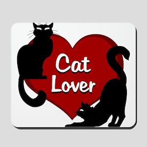 cat lover Mousepad