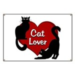 Fat Cat & Cat Lover Banner