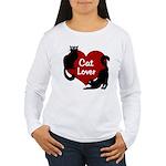 Fat Cat & Cat Lover Women's Long Sleeve T-Shirt