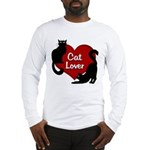 Fat Cat & Cat Lover Long Sleeve T-Shirt