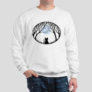 Cat Lover Cute Fat Cat Sweatshirt